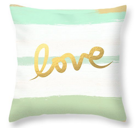 Love in Mint and Gold by Linda Woods