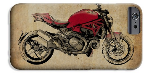 Ducati Monster 1200 by Pablo Franchi