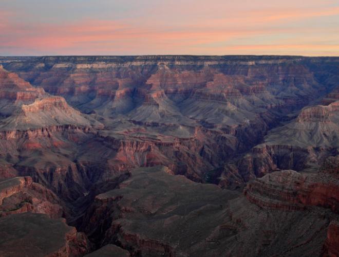 Dawn At Grand Canyon - Pierre Leclerc