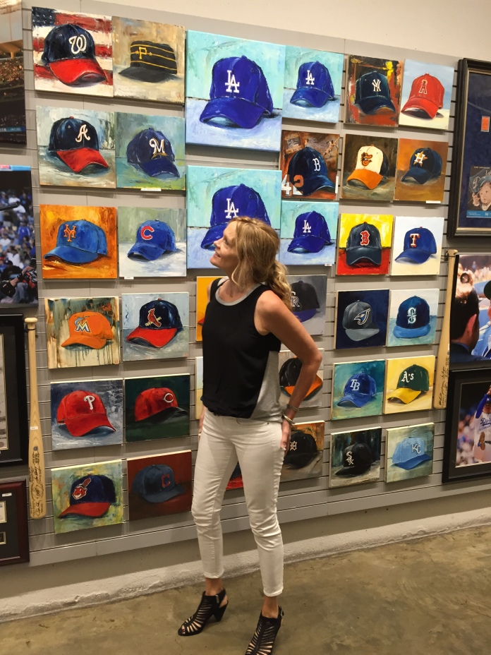 Lindsay Frost MLB Collection at Dodgers Stadium