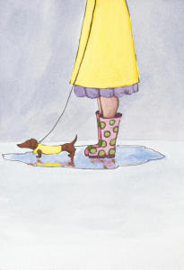 Rain Boots by Christy Beckwith